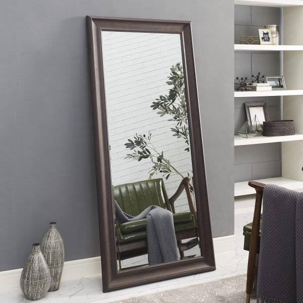 framed floor mirror