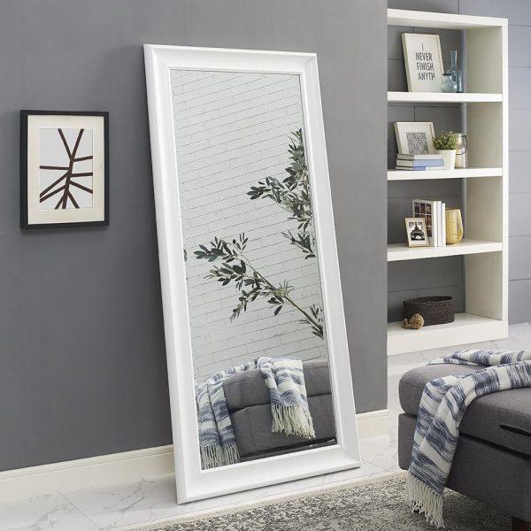 framed standing mirror