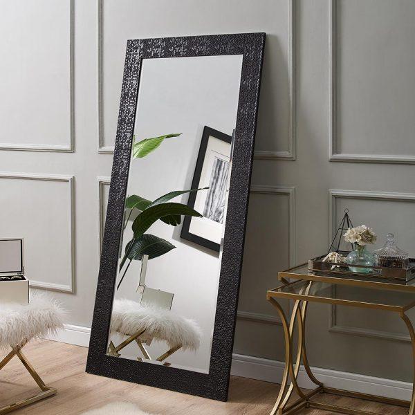 mosaic floor mirror