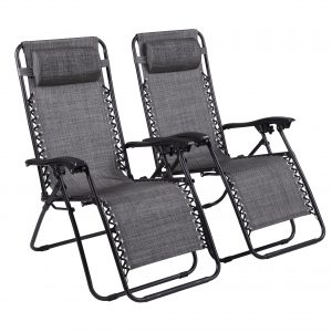 Naomi Home Zero Gravity Chairs – Set of 2