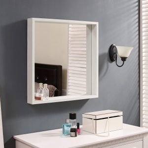 Naomi Home Square Storage Function Mirror