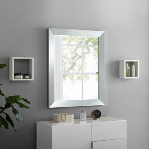Naomi Home Mirrored Bevel Mirror