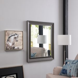 Naomi Home Framed Bevel Mirror