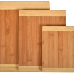Naomi Home Matching Cutting Boards (Set of 3) – Two Tone