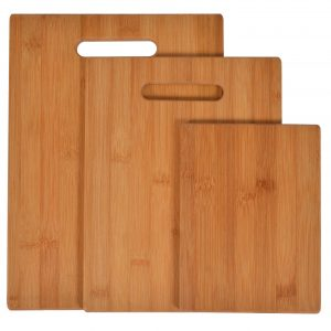 Naomi Home Matching Cutting Boards (Set of 3) with handles