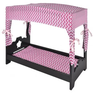 Naomi Home Kids Canopy Doll Bed