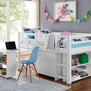 Naomi Home Low Study Loft Bed