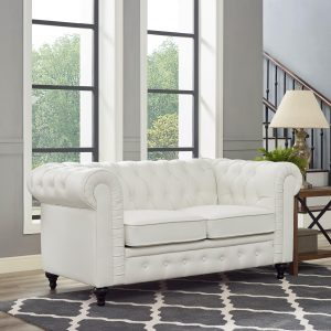 Naomi Home Emery Chesterfield Love Seat