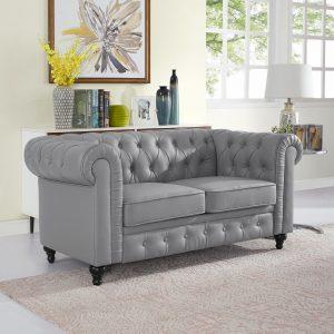 Naomi Home Emery Chesterfield Love Seat