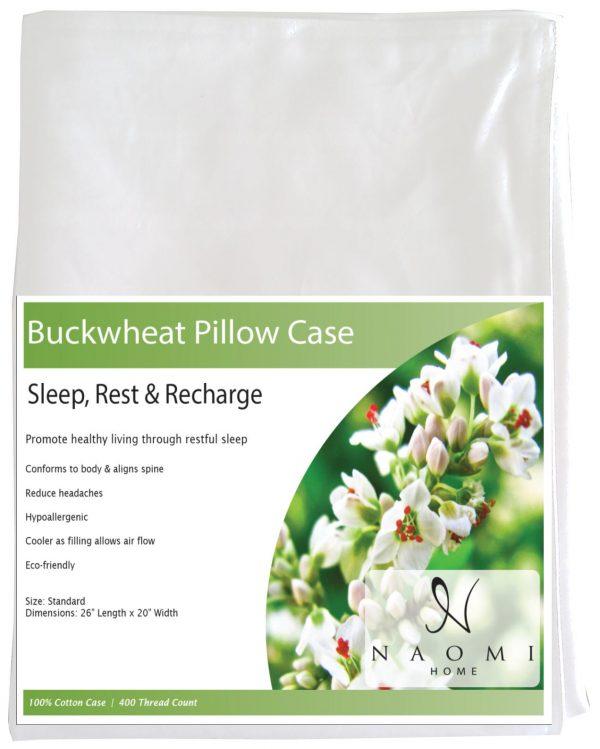 pillow case buckwheat pillow