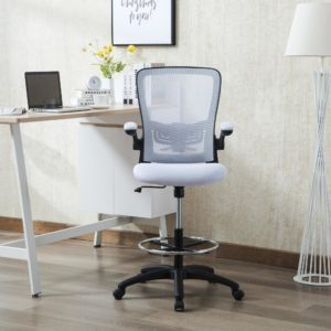 Naomi Home Serena Mid-Back Adjustable Drafting Chair