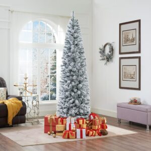 Naomi Home Snow Frosted Christmas Tree