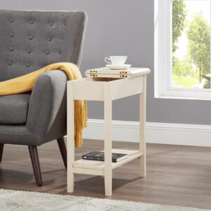 Naomi Home Roxy Flip Top Chairside Table