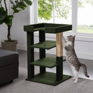 Naomi Home Callie 3-Level Cat Tower