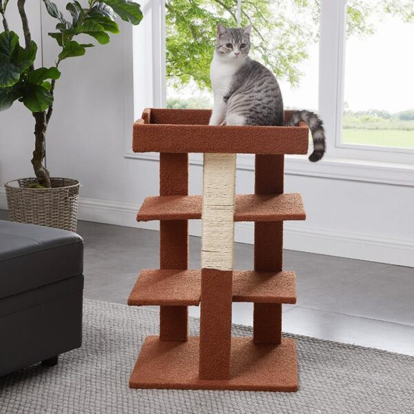 Cat tower choices for a healthy and good-humored feline;