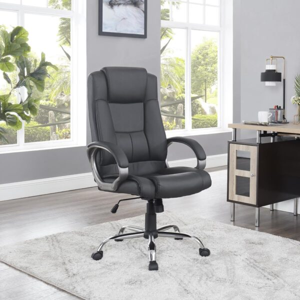 Naomi Home Halle High-Back Executive Office Chair, Man Cave Furniture