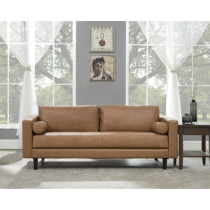 Naomi Home Marisa Genuine Leather Sofa Set