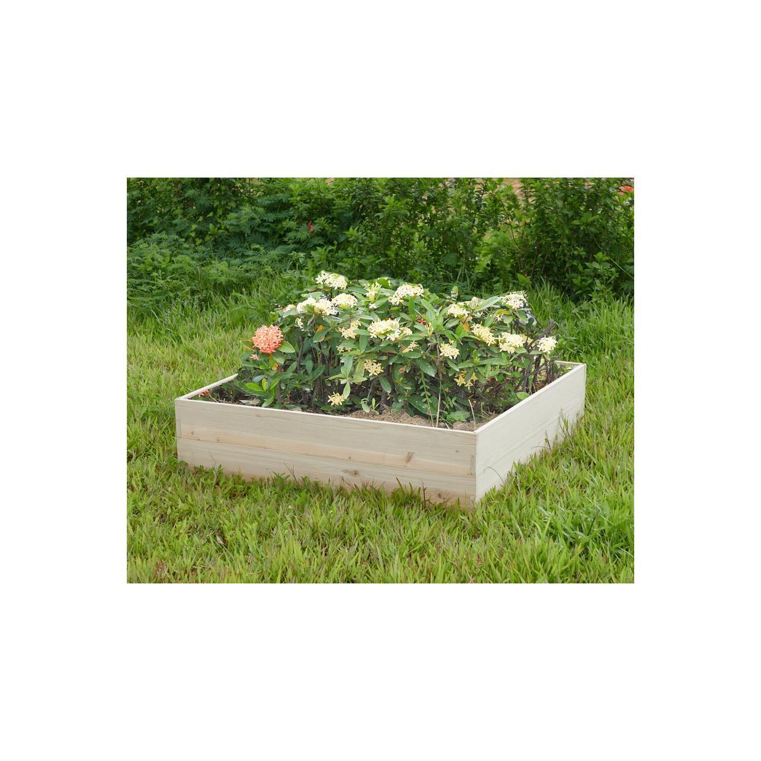 Naomi Home Iris Garden Planter Bed Box