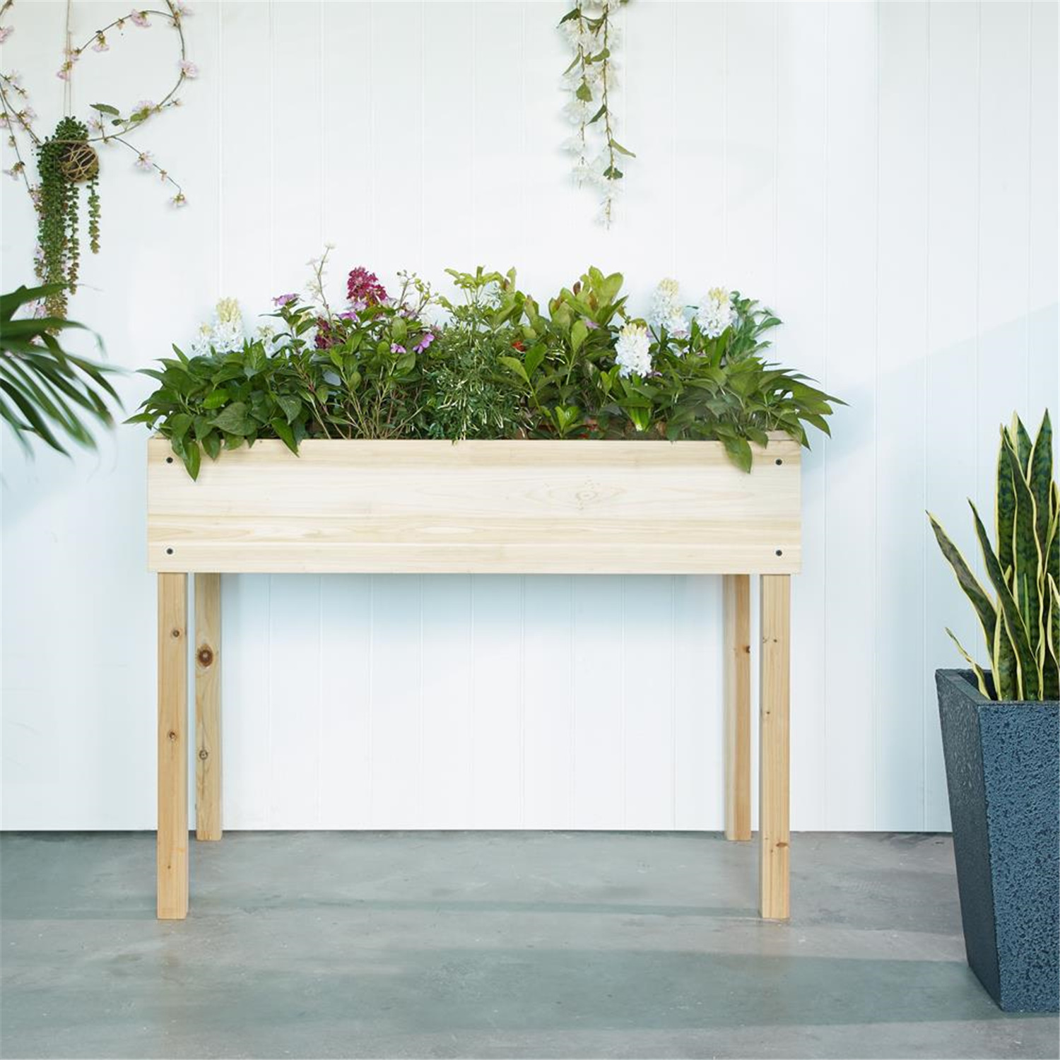 Naomi Home Amaryllis Raised Garden Planter Bed