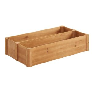 Naomi Home Hana Raised Garden Bed Planter Box