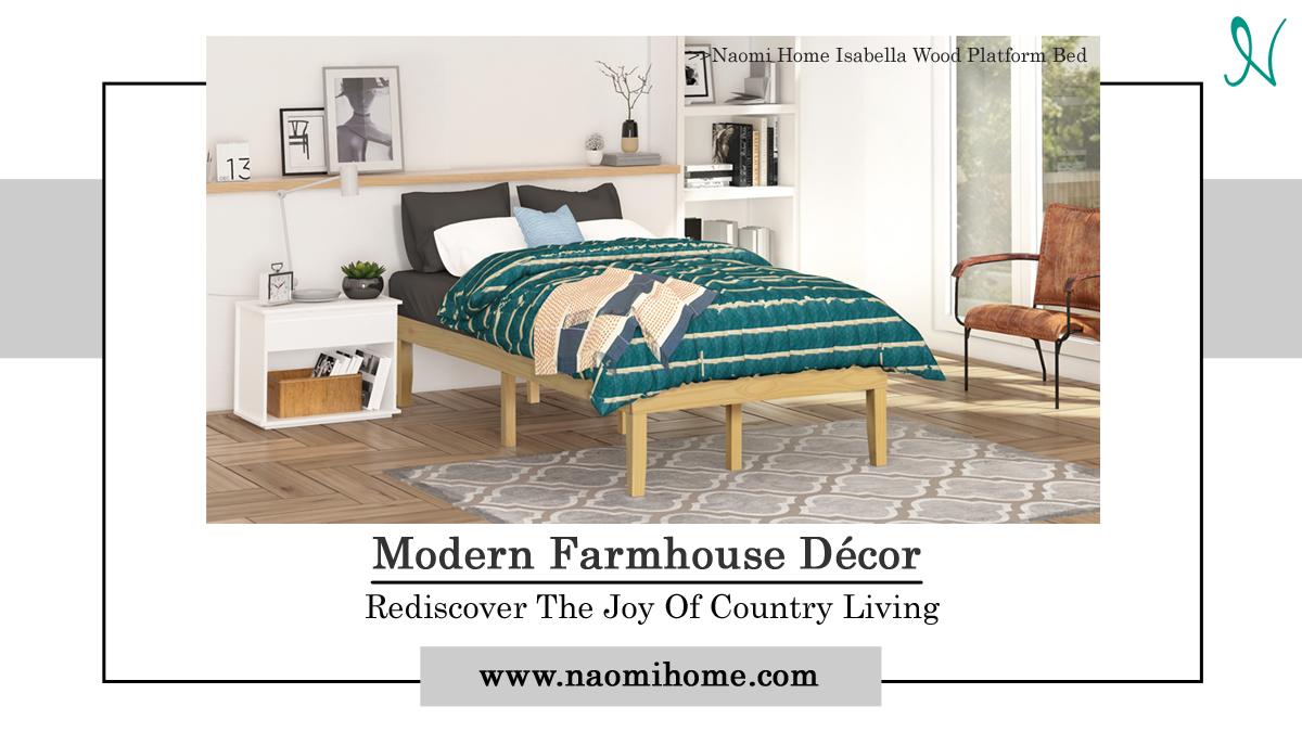 Modern Farmhouse Décor: Rediscover The Joy Of Country Living