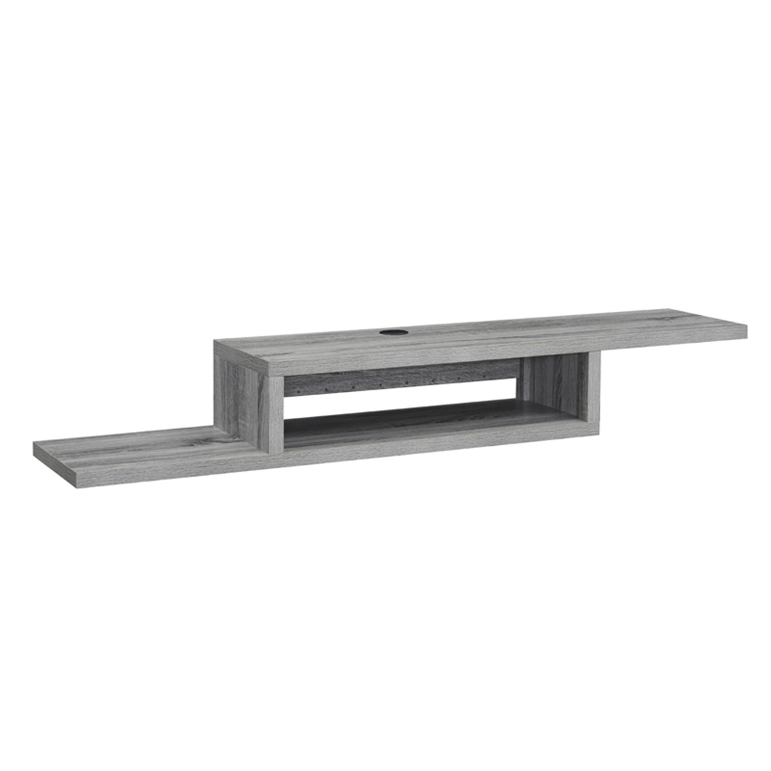 """Naomi Home Athena Wall Mounted Floating TV Stand for 65"""" TV"""